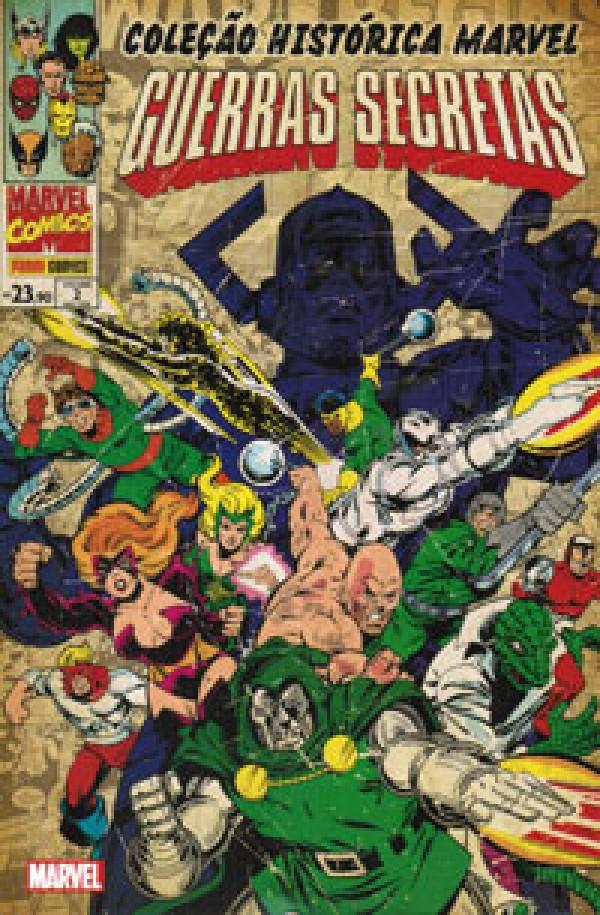 Coleção Histórica Marvel - Guerras Secretas 2