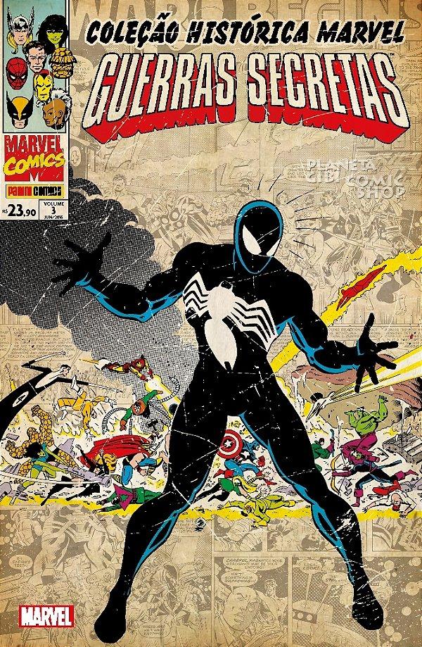 Coleção Histórica Marvel - Guerras Secretas 3