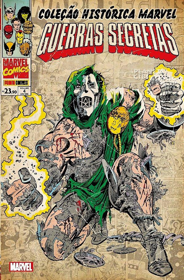 Coleção Histórica Marvel - Guerras Secretas 4