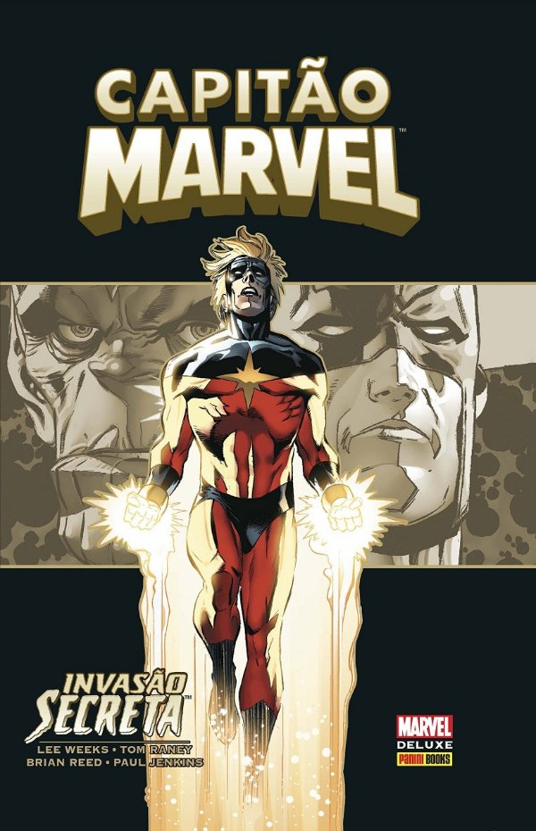 Marvel Deluxe - Capitão Marvel Invasão Secreta