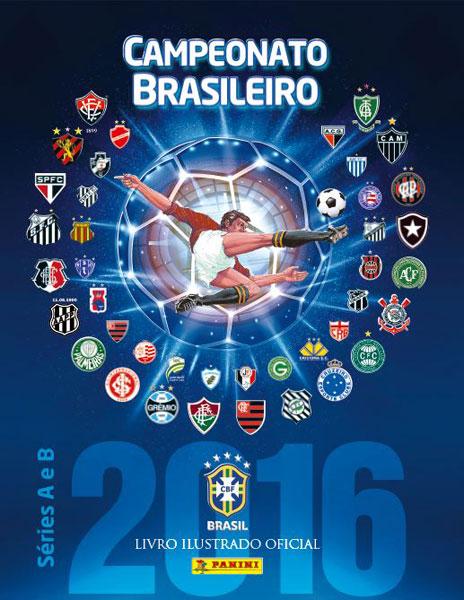 Álbum Campeonato Brasileiro 2016 - Capa Dura com 10 envelopes