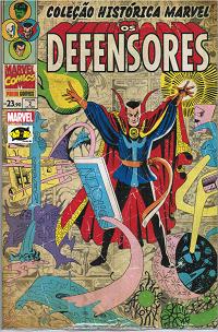 Coleção Histórica Marvel - Os Defensores 2