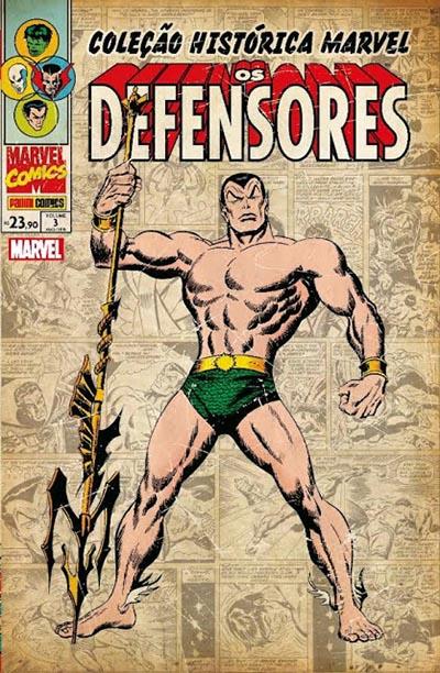 Coleção Histórica Marvel - Os Defensores 3