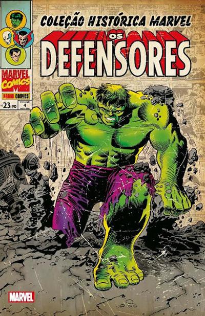 Coleção Histórica Marvel - Os Defensores 4
