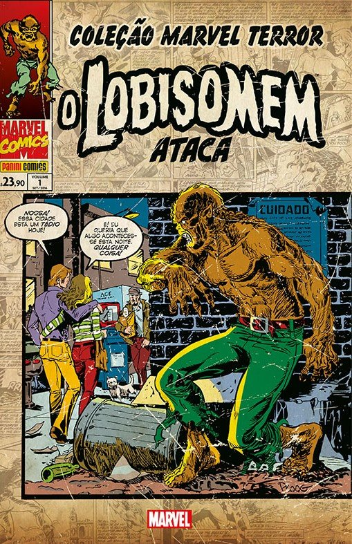 Marvel Terror – O Lobisomem Ataca