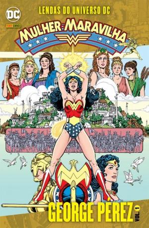 Mulher Maravilha Lendas do Universo DC - George Pérez Vol 1