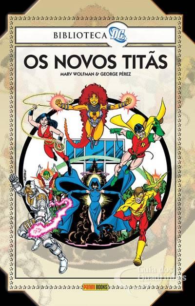 Biblioteca DC Novos Titãs - Capa Dura