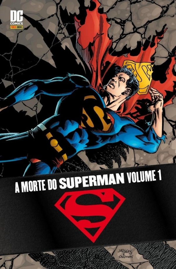 A Morte do Superman Volume 1
