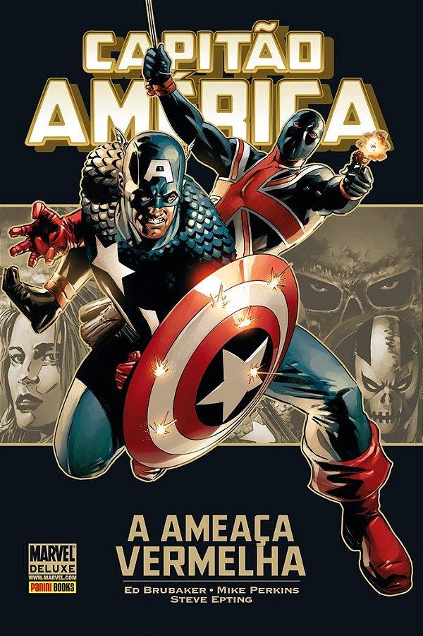 Marvel Deluxe - Capitão America A Ameaca Vermelha