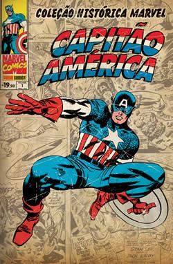 Coleção Histórica Marvel - Capitão América 1