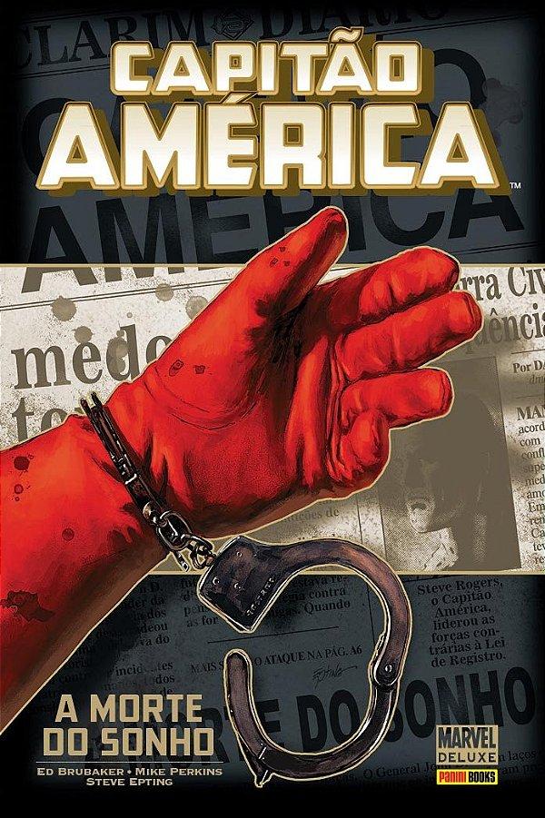 Marvel Deluxe - Capitão America A Morte Do Sonho