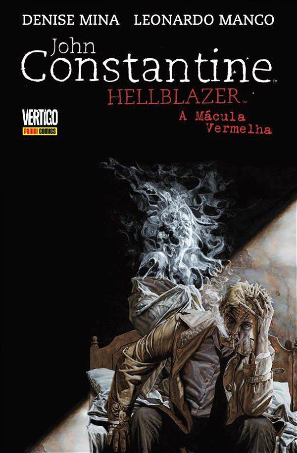 John Constantine Hellblazer A Mácula Vermelha