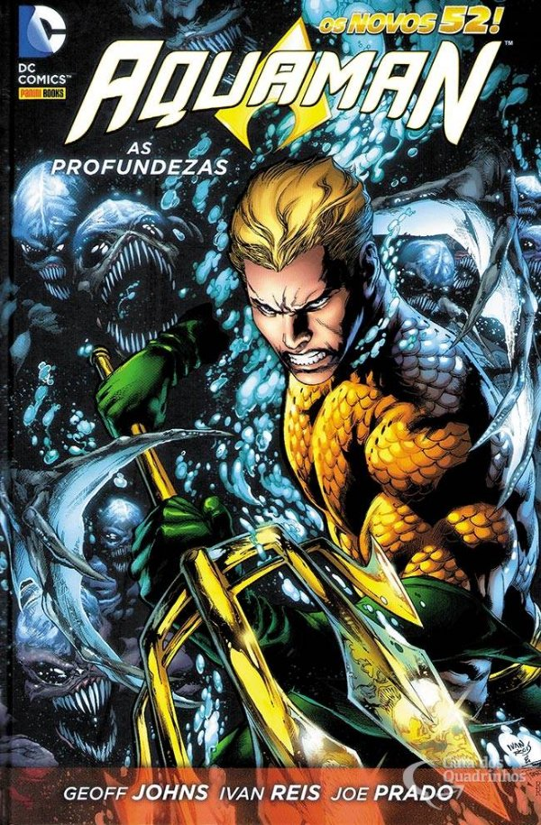 Aquaman As Profundezas