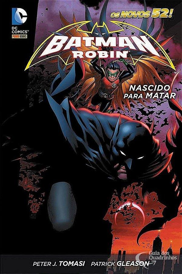 Batman & Robin Nascido Para Matar