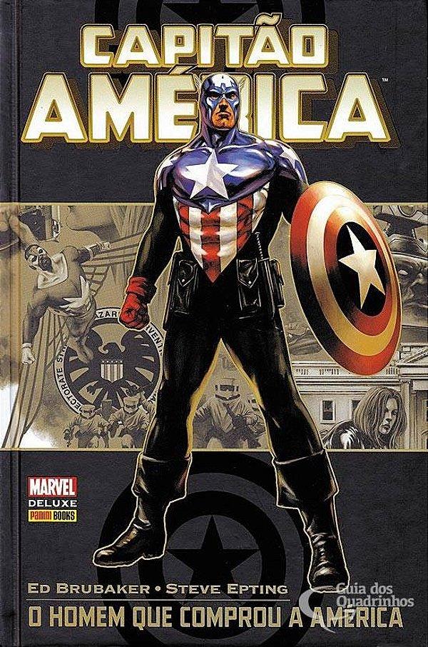 Marvel Deluxe - Capitão América O Homem Que Comprou A América