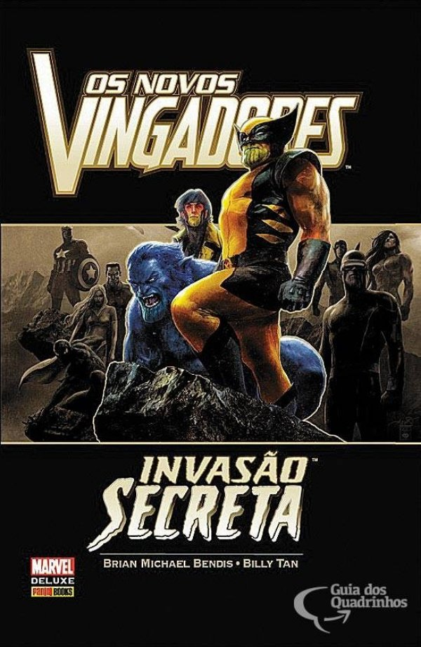 Marvel Deluxe - Os Novos Vingadores Invasão Secreta