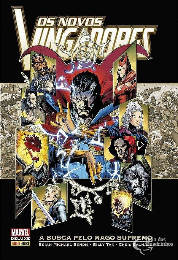 Marvel Deluxe - Os Novos Vingadores A Busca Pelo Mago Supremo