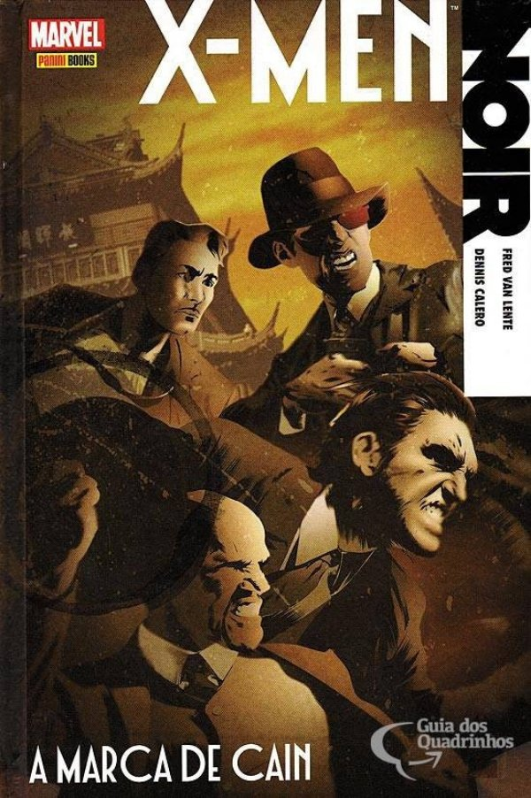 X-men Noir A Marca De Cain