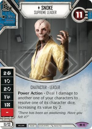 SW Destiny - Snoke Supreme Leader