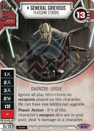 SW Destiny - General Grievous Fearsome Cyborg