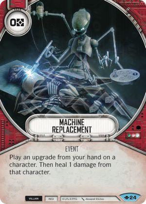 SW Destiny - Machine Replacement