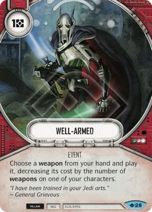 SW Destiny - Well-armed