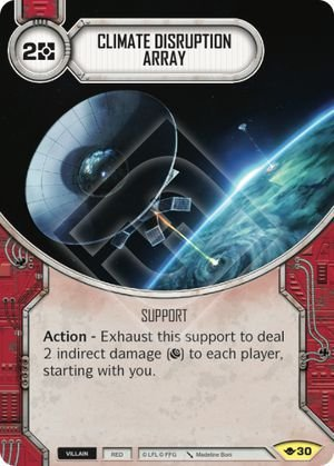 SW Destiny - Climate Disruption Array