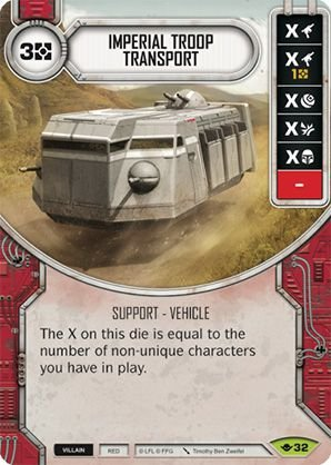 SW Destiny - Imperial Troop Transport