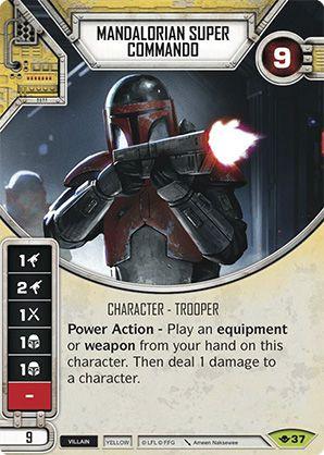 SW Destiny - Mandalorian Super Commando