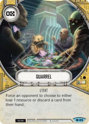 SW Destiny - Quarrel
