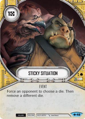 SW Destiny - Sticky Situation