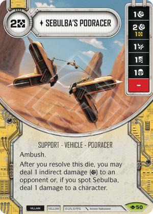 SW Destiny - Sebulba's Podracer