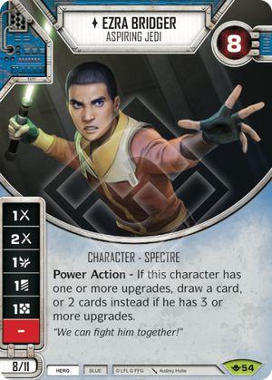 SW Destiny - Ezra Bridger Aspiring Jedi
