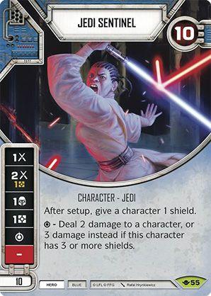 SW Destiny - Jedi Sentinel