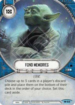 SW Destiny - Fond Memories