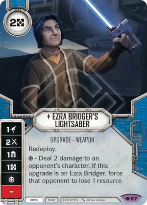 SW Destiny - Ezra Bridger's Lightsaber