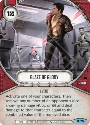 SW Destiny - Blaze of Glory