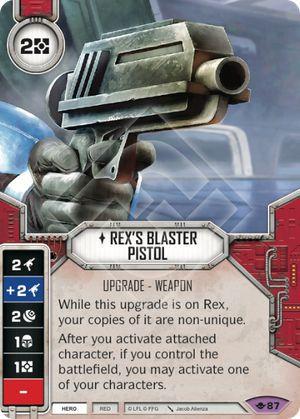 SW Destiny - Rex's Blaster Pistol