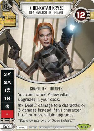 SW Destiny - Bo-Katan Kryze Deathwatch Lieutenant