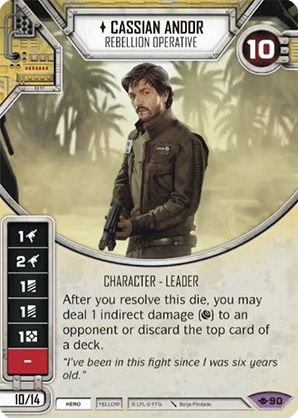 SW Destiny - Cassian Andor Rebellion Operative