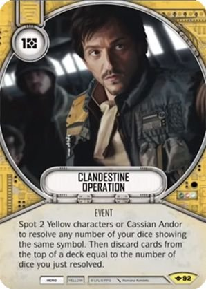 SW Destiny - Clandestine Operation