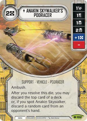 SW Destiny - Anakin Skywalker's Podracer