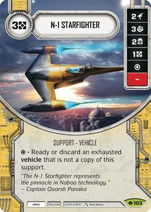 SW Destiny - N-1 Starfighter