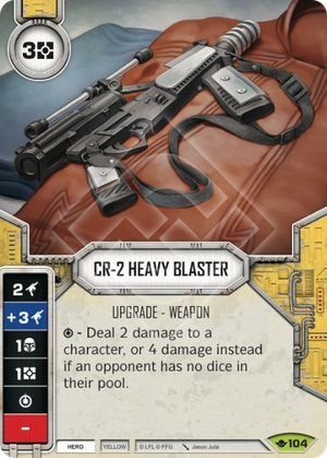 SW Destiny - CR-2 Heavy Blaster