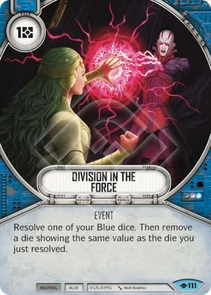 SW Destiny - Division in the Force