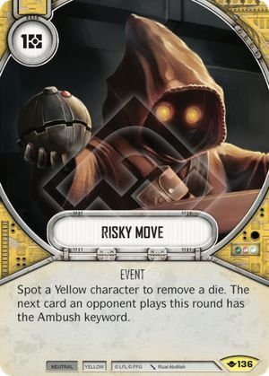 SW Destiny - Risky Move