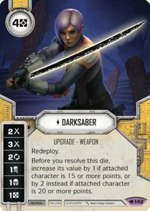 SW Destiny - Darksaber