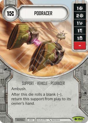 SW Destiny - Podracer