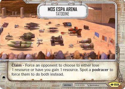 SW Destiny - Mos Espa Arena Tatooine