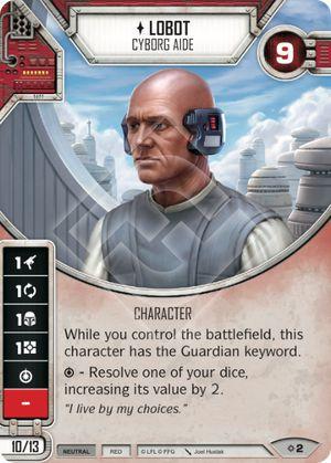SW Destiny - Lobot - Cyborg Aide